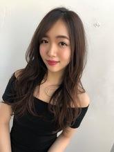 女子アナ風ラフセミディ【シナモンブランジュ】U-226|ALICe by afloat 上田 ヒロツグのヘアスタイル