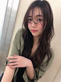 春のシースルーセミディ【シナモンブランジュ】U-231