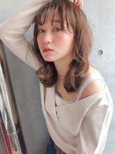 ウルフレイヤー 小顔パーマ 【yー445】|ALICe by afloatのヘアスタイル