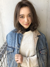 くびれロブ フォギーアッシュ【y−447】|ALICe by afloat 松盛 友美子のヘアスタイル
