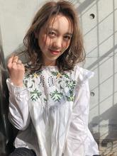 春ボブ 大人カジュアル【y−450】|ALICe by afloat 松盛 友美子のヘアスタイル