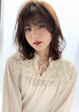 透け感カラー 毛先デジタルパーマ M261|ALICe by afloat 山岡 未夢のヘアスタイル