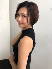 大人のハンサムショート【ラベンダーグレー】U-239