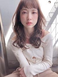 春色 シアモーブ セミロング【yー455】
