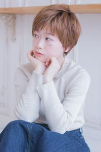 ひし形マッシュエアリーショート  AKI-451
