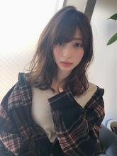 女子アナ風ラフセミディ【シナモンブランジュ】U-247 ALICe by afloat 上田 ヒロツグのヘアスタイル