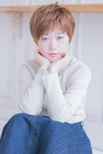 可愛い柔らかアッシュショート  AKI-457|ALICe by afloat AKIHIROのヘアスタイル