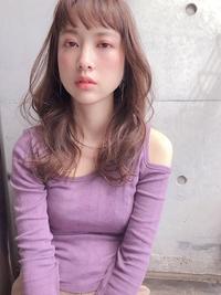 大人可愛い春髪セミロング【yー462】