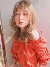 ネオウルフ ミルクティー オーガニックカラー【yー466】|ALICe by afloatのヘアスタイル