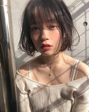 束感ワンカールパーマボブ【K_8】|ALICe by afloatのヘアスタイル