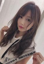 女子アナ風カジュアルセミディ【シナモンブランジュ】U-265|ALICe by afloatのヘアスタイル