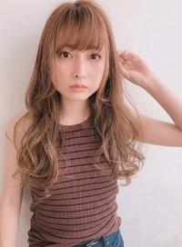 シースルーバング 前髪パーマ【y−482】