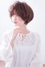 柔らかグレージュカラーウルフ夏ショート  AKI-483|ALICe by afloat AKIHIROのヘアスタイル