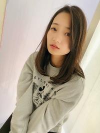 女子アナ風清楚セミディ【シナモンブランジュ】U-268