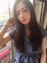 女子アナ風ラフセミディ【シナモンブランジュ】U-271|ALICe by afloat 上田 ヒロツグのヘアスタイル