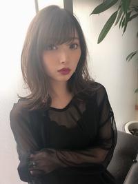 女子アナ風清楚セミディ【シナモンブランジュ】U-273