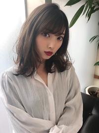 女子アナ風清楚セミディ【シナモンブランジュ】U-274