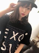 女子アナ風清楚セミディ【シナモンブランジュ】U-275|ALICe by afloatのヘアスタイル