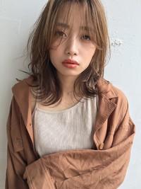 秋先取り☆ナチュラル外ハネ大人くびれミディ19