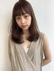 内巻きワンカール  毛先パーマM300