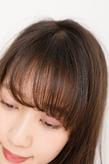 ボリューム感と色味を復活させたふんわりヘア