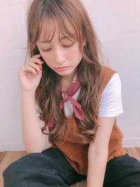 大人ロング ウェーブ デジタルパーマ【y−497】