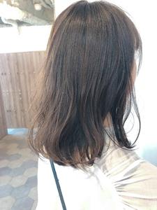 シースルーフォーギーグレージュ【K_20】|ALICe by afloatのヘアスタイル