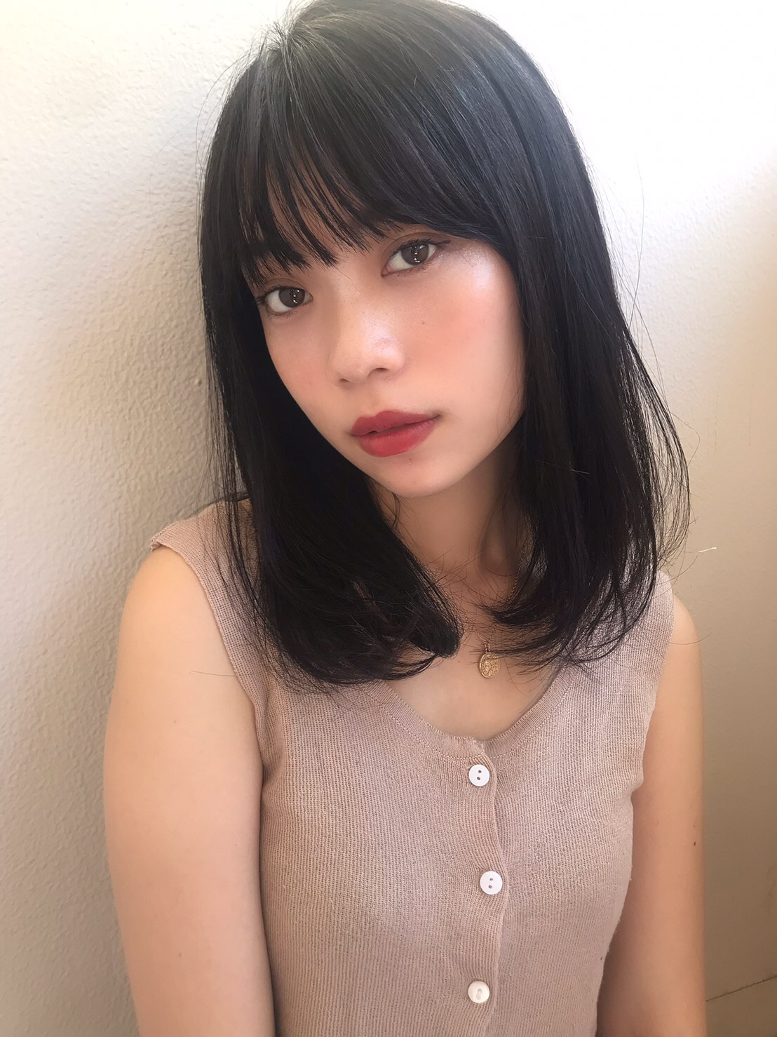 暗髪ワンカール【T27】
