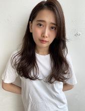 かきあげバング ほつれニュアンスパーマM302 ALICe by afloat 山岡 未夢のヘアスタイル