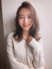 くびれミディ ココアブラウン 秋カラー【yー507】