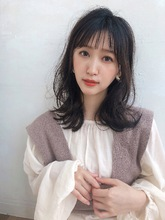 愛されフェミニンレイヤーミディ【K_32】|ALICe by afloat 野坂 京のヘアスタイル