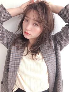 秋髪ベイクドカラー ウルフレイヤー【y−511】|ALICe by afloatのヘアスタイル