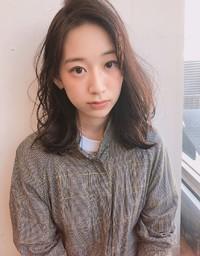大人ロブ 秋髪 パーマ【y−518】