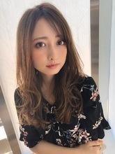 女子アナ風ラフセミディ【艶ブランジュ】U-297 ALICe by afloat 上田 ヒロツグのヘアスタイル