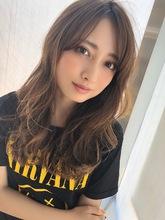 女子アナ風ラフセミディ【シナモンブランジュ】U-298 ALICe by afloat 上田 ヒロツグのヘアスタイル