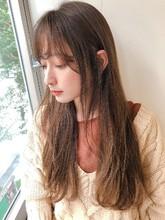 オーガニックカラー キャラメルベージュ【yー522】|ALICe by afloatのヘアスタイル