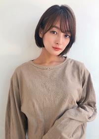 小顔シースルーバング ミニボブ【K_41】