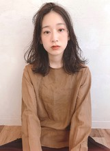 鎖骨 Aラインボブ 栗色【yー526】|ALICe by afloatのヘアスタイル