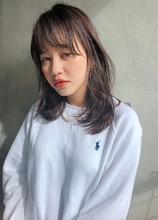 透明感カラー 光色 グレージュ【y−536】 ALICe by afloat 松盛 友美子のヘアスタイル