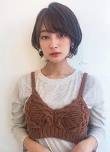 小顔ひし形ショートボブ【K_50】|ALICe by afloatのヘアスタイル