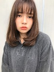 ワンカール×シースルーバング【T57】