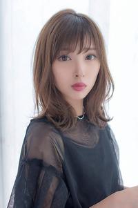 女子アナ風清楚セミディ【シナモンブランジュ】U-311