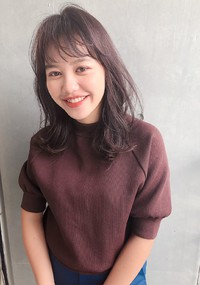 レイヤーミディ 秋色ボルドー【yー540】