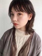 ウルフレイヤーくびれボブミディ60|ALICe by afloatのヘアスタイル