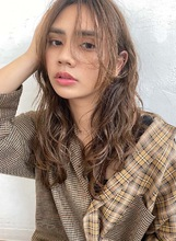 しっかりパーマ×チークバング【T68】|ALICe by afloatのヘアスタイル