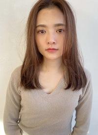 前髪なしストレートスタイル【T73】