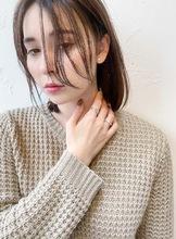 リップライン前髪【T75】 ALICe by afloat 高野 綾奈のヘアスタイル