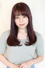 毛先までぷるんと弾む☆ジューシーカラーのツヤめきロング ALICe by afloat 上田 ヒロツグのヘアスタイル