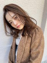 かきあげミックスパーマ【T79】 ALICe by afloat 高野 綾奈のヘアスタイル