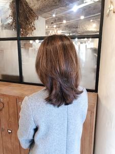 30代からのデジタルパーマa859 ALICe by afloatのヘアスタイル